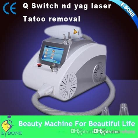 portable  switch  yag laser tattoo removal machine