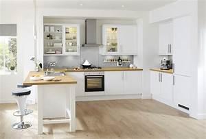 Ikea Cuisine Blanche : cuisine blanche et bois pinterest ~ Melissatoandfro.com Idées de Décoration