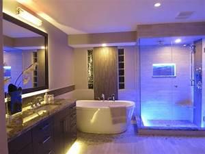 Led Spot Dusche : 1001 ideen f r badbeleuchtung decke effektvolle und atemberaubende atmosph re ~ Markanthonyermac.com Haus und Dekorationen