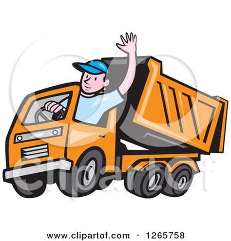royalty  rf dump truck clipart illustrations vector graphics