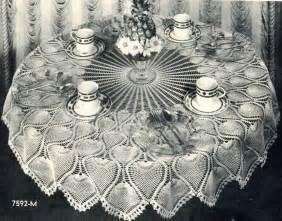 Crochet Round Pineapple Tablecloth Pattern