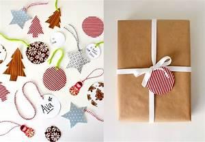 Papier Cadeau Blanc : emballage cadeau original 40 id es avec des instructions ~ Teatrodelosmanantiales.com Idées de Décoration