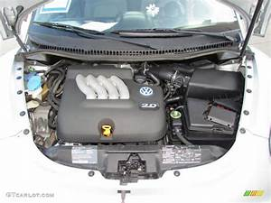 2001 Volkswagen New Beetle Gl Coupe Engine Photos