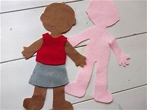 17 best images about felt people clothes patterns on With felt dress up doll template