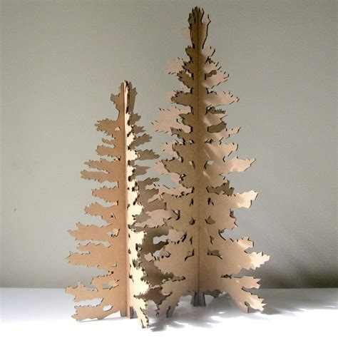 christmas tree out of cardboard cardboard christmas tree eco laser cut 7510