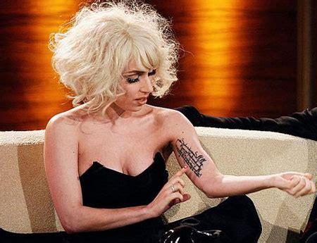 meanings  celebrities tattoos oddetorium