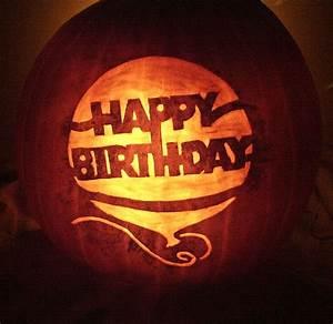 Happy Birthday Pumpkin | Halloween Pumpkins | Pinterest ...