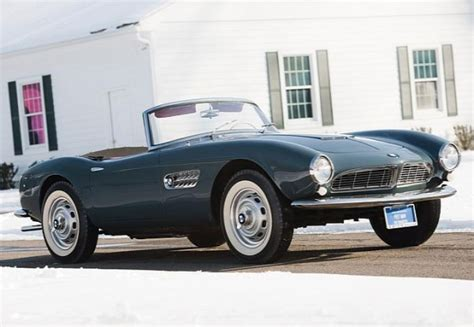 Bmw 507 Roadster by 1958 Bmw 507 Roadster Sold For 2 4 Million At Amelia Concours