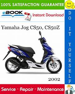 Best  U2606 U2606 2002 Yamaha Jog Cs50  Cs50z Scooter Service Repair
