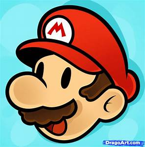 How to Draw Mario Easy, Step by Step, Video Game ...