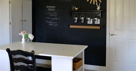 chalkboard wall   home officecraft