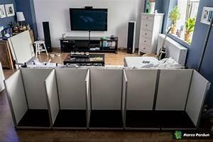 Aquarium Als Raumteiler : ein 400l raumteiler 150x50x50cm vorbereitung dein ~ Michelbontemps.com Haus und Dekorationen