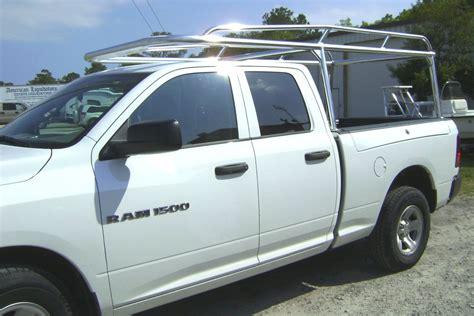 truck racks for racks aluminum truck racks shop pickupspecialties