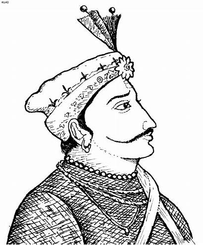 Indian King Clipart Queen Line Drawing Cliparts
