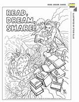 Everychildareader Papercutz sketch template