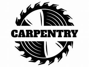 Woodworking Logo 11 Saw Blade Carpenter Tool Build