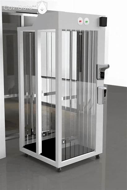 Disinfection Chamber Gate Fogging Cov Upgraded Ph