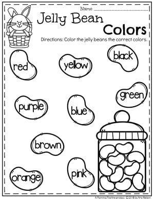 369 preschool worksheets on