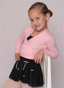 Child Ballet Wrap Sweater