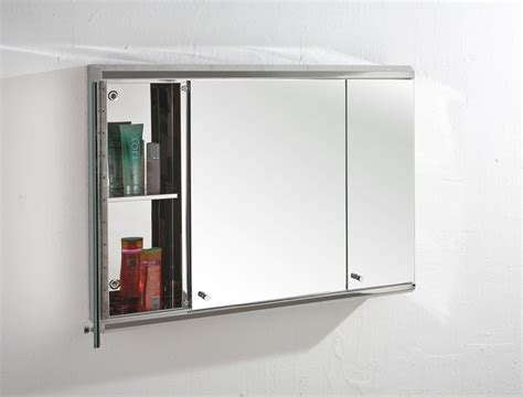 Large Mirrored Bathroom Cabinet by 800mm Wide Door Large Biscay Wall Mount Mirror