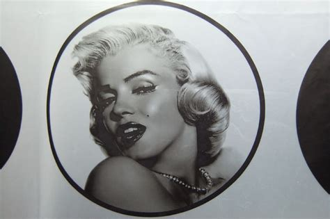 marilyn shower curtain marilyn shower curtain shower curtains by