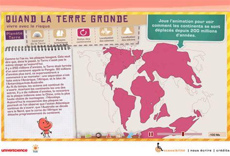 Quand La Terre Gronde Jeu Flash by La Plan 232 Te Terre G 233 Ologie Animation Flash Quand La