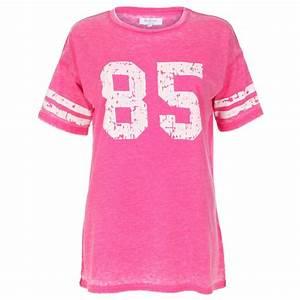 Womens Bright Pink '85' T-Shirt