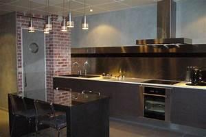 Credence Cuisine Moderne : cuisine moderne en i ~ Dallasstarsshop.com Idées de Décoration