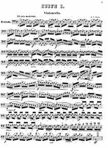 Suite No 1 In G Major For Solo Cello Sheet Music Free