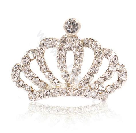 rhinestone crown hair clip buy wholesale mini alloy crown hair accessories