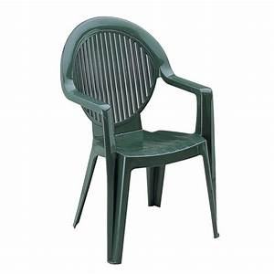 Fauteuil Plastique Jardin : fauteuil fidji ii vert grosfillex achat vente fauteuil jardin chaises de jardin cdiscount ~ Teatrodelosmanantiales.com Idées de Décoration