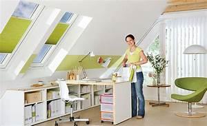 Möbel Für Dachschrägen Selber Bauen : schreibtisch auf rollen ~ Markanthonyermac.com Haus und Dekorationen