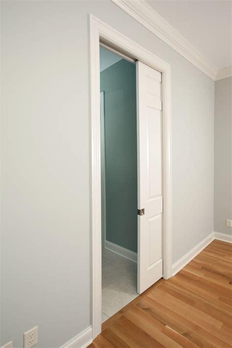 install  pocket door