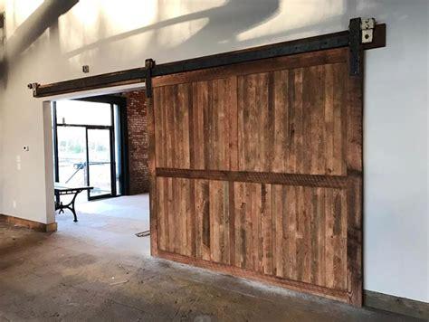 Large Barn Doors by Reclaimed Wood Barn Doors Brewery Design Rustic Modern