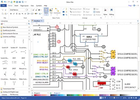Wiring Diagram Software Draw Diagrams With Built