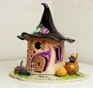Feenhaus Selber Basteln : gro es elfenhaus windlicht f r halloween honiglicht ~ Lizthompson.info Haus und Dekorationen