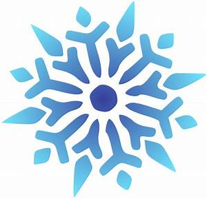 Snowflake Blue Radiant Clip Art at Clker.com - vector clip ...