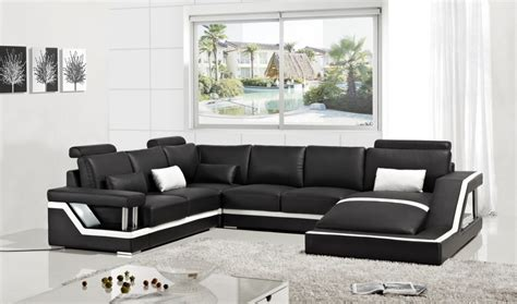 Divani Casa T271 Modern Bonded Leather Sectional Sofa In