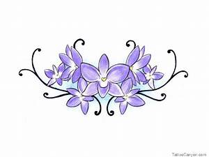African Violet Tattoo - Cliparts.co