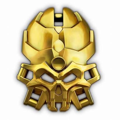 Bionicle Mask Skull Golden Spiders Maske Goldene