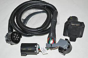 Dodge Ram Truck Trailer Tow Wiring Harness Way Bed