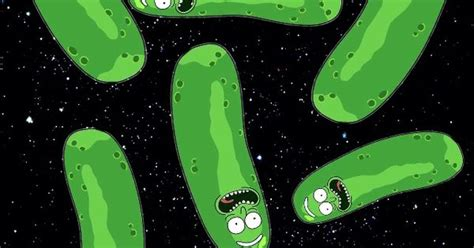 pickle riiiiiiick rick  morty rickandmorty