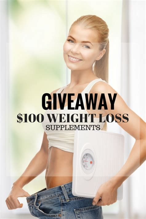 Win over $100 in weight loss supplements #Giveaway #Win #Enter #WeightLoss ? Shabby Chic Boho
