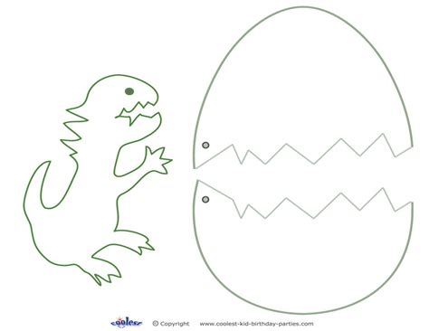 Dinosaur Template Medium Printable Dinosaur Craft Coolest Free Printables