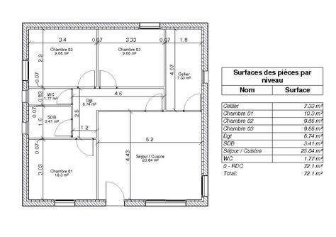 surface minimum d une chambre beau comment calculer la surface d une chambre 1 la