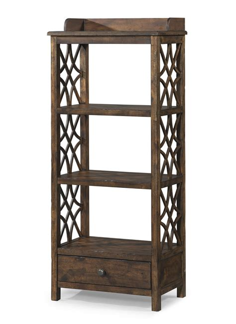 Furniture Etagere by Honeysuckle Etagere With Shelf And Drawer Storage By