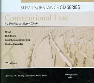 Constitutional Law - Study Aids for Upper Division Bar ...