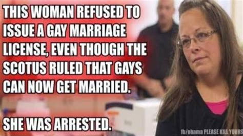Same Sex Marriage Meme - why you won t get arrested if refuse to issue gun permits