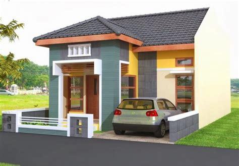 contoh warna cat rumah  cantik gambar desain rumah