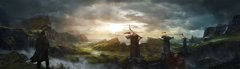 middle earth shadow mordor fantasy game wallpapers hd